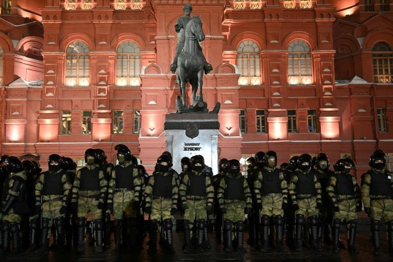 Police have detained thousands of protesters and dozens of journalists over the past few weeks