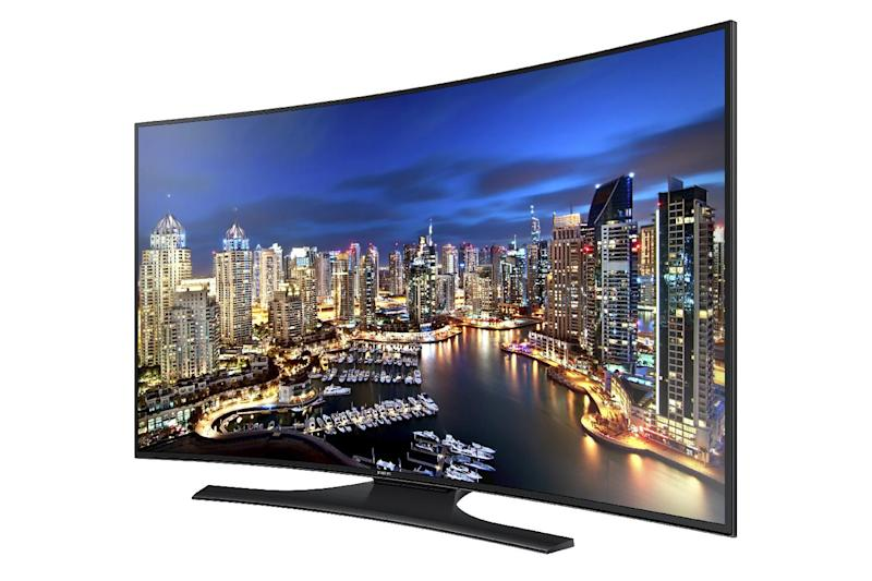 The Samsung  Curved UHD TV