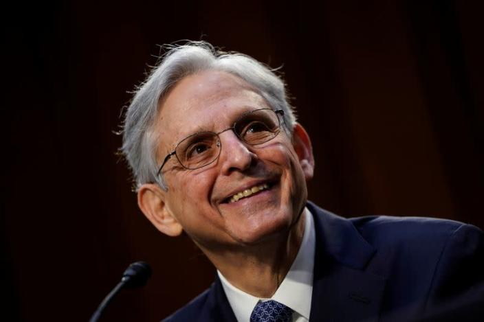 FILE PHOTO: U.S. Senate panel holds hearing for attorney general nominee Garland