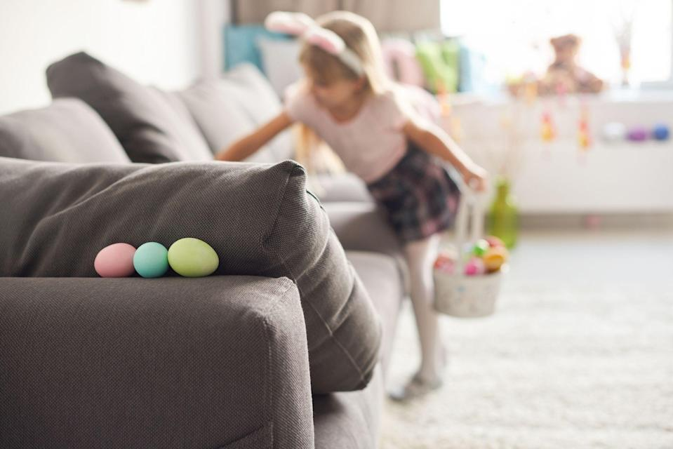 This Clever Indoor Easter Idea Combines an Egg Hunt With ...