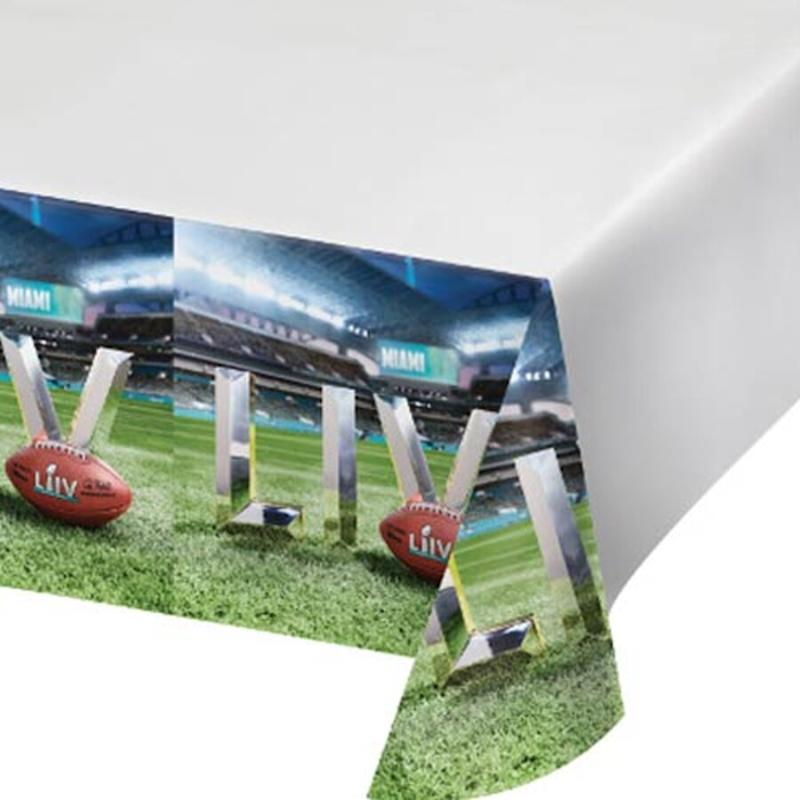 Super Bowl LIV Plastic Table Cover