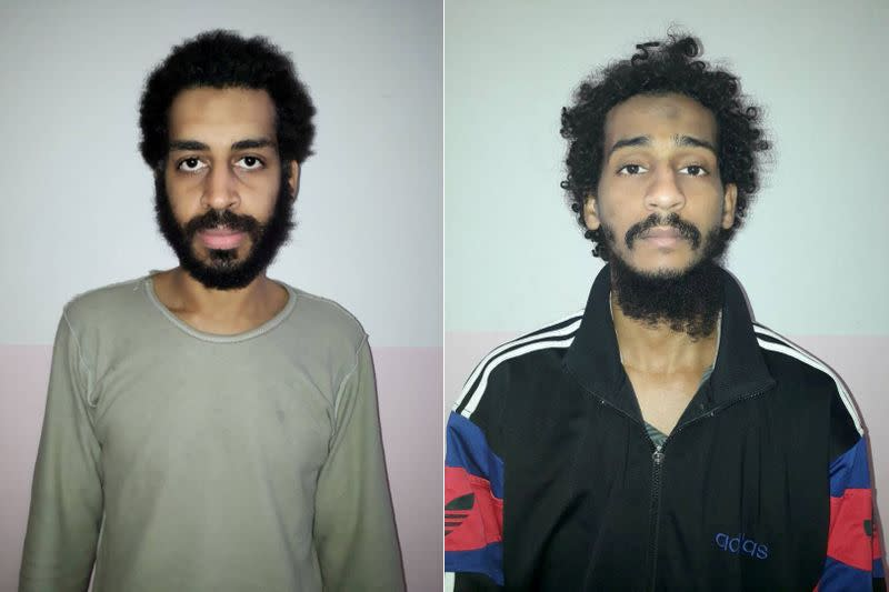 Britain sends evidence on accused Islamic State 'Beatles' to U.S.
