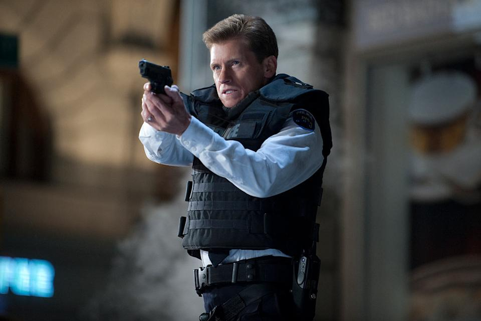 """Denis Leary in Columbia Pictures' """"<a href=""""http://movies.yahoo.com/movie/the-amazing-spiderman/"""" data-ylk=""""slk:The Amazing Spider-Man"""" class=""""link rapid-noclick-resp"""">The Amazing Spider-Man</a>"""" - 2012"""