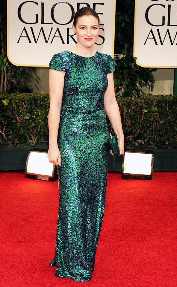 Kelly Maconald arrives at the 69th Annual Golden Globe Awards in Beverly Hills, California, on January 15
