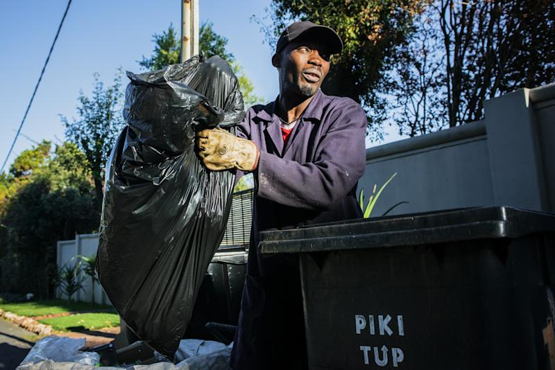 Picking Trash for $1.20 an Hour in the World's Most Unequal Nation