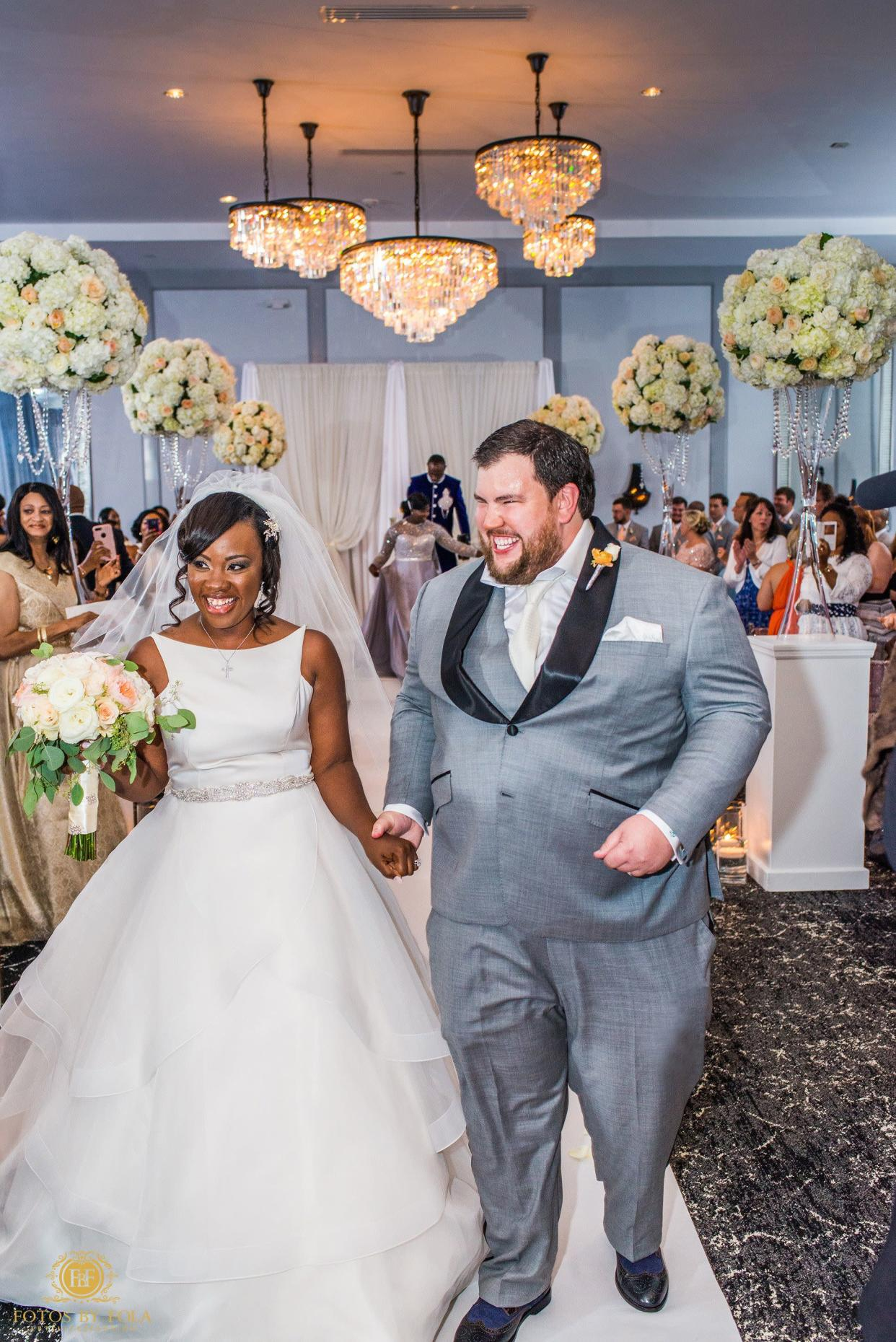 """""""Justus was the happiest man in the world after tying the knot with the love of his life. Congrats to Lily and Justus!"""" --&nbsp;<i>Afolabi Sogunro&nbsp;&nbsp;&nbsp;</i>"""