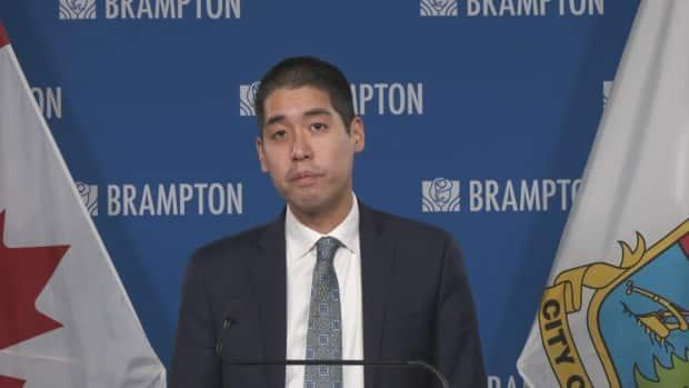 Peel's top doctor, Dr. Lawrence Loh, says his public health unit is monitoring COVID-19 data closely and will soon be making a recommendation to theprovince on where the community should be in the pandemic framework. (CBC - image credit)