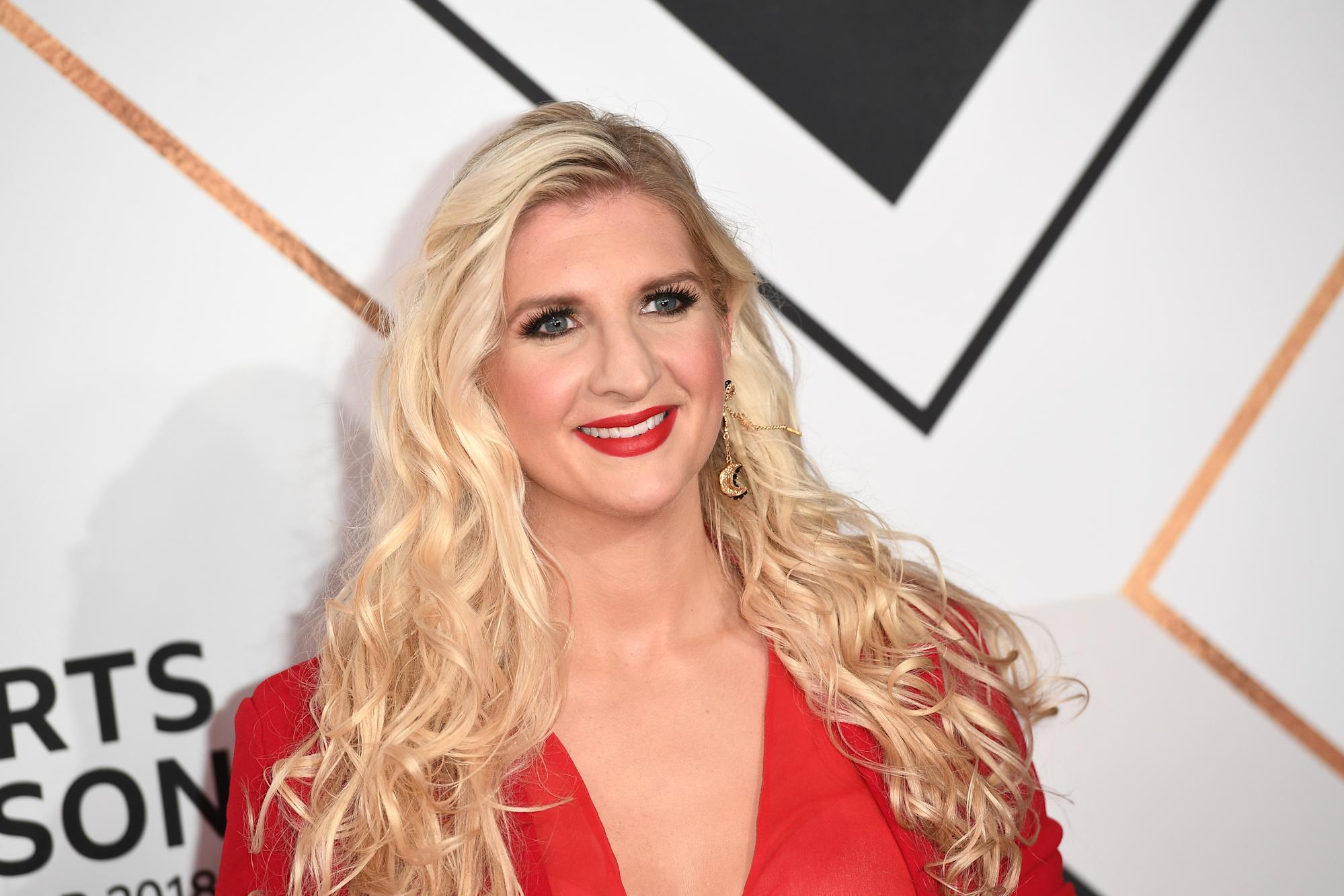 Rebecca Adlington's partner didn't know who she was when they met on dating app