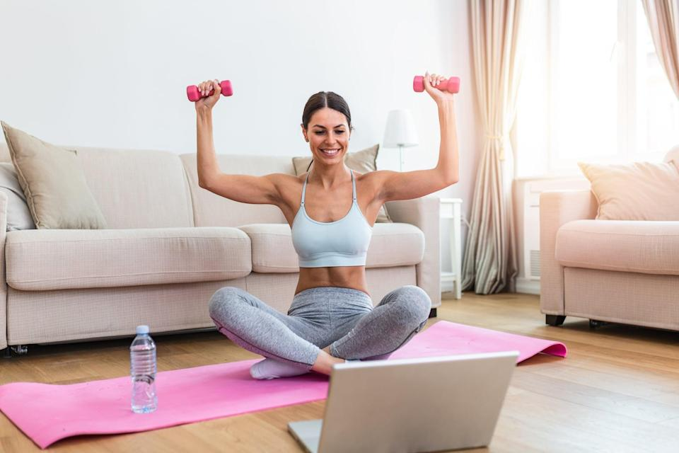 """<p>Chadwell noted that many women shy away from training their upper body for any number of reasons. You might find it intimidating or <a href=""""https://www.popsugar.com/fitness/Should-Women-Work-Arms-46277426"""" class=""""link rapid-noclick-resp"""" rel=""""nofollow noopener"""" target=""""_blank"""" data-ylk=""""slk:worry that you'll bulk up"""">worry that you'll bulk up</a> - but it's just a matter of choosing the right workout.</p> <p>Try a simple <a href=""""https://www.popsugar.com/fitness/no-equipment-arm-workouts-youtube-47623101"""" class=""""link rapid-noclick-resp"""" rel=""""nofollow noopener"""" target=""""_blank"""" data-ylk=""""slk:bodyweight routine"""">bodyweight routine</a> or some of these 10-minute<a href=""""https://www.popsugar.com/fitness/10-Minute-Arm-YouTube-Videos-46060130"""" class=""""link rapid-noclick-resp"""" rel=""""nofollow noopener"""" target=""""_blank"""" data-ylk=""""slk:arm workouts from YouTube""""> arm workouts from YouTube</a>. You'll improve your overall muscular balance and strength.</p>"""