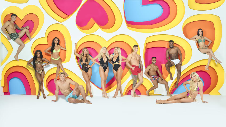 The Love Island winter contestants have been announced. (ITV)