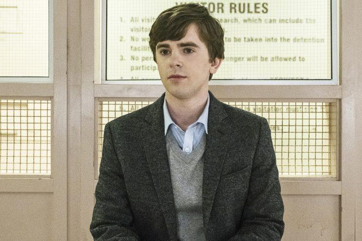 Freddie Highmore in AMC's Bates Motel (Photo: Cate Cameron/A&E Networks)
