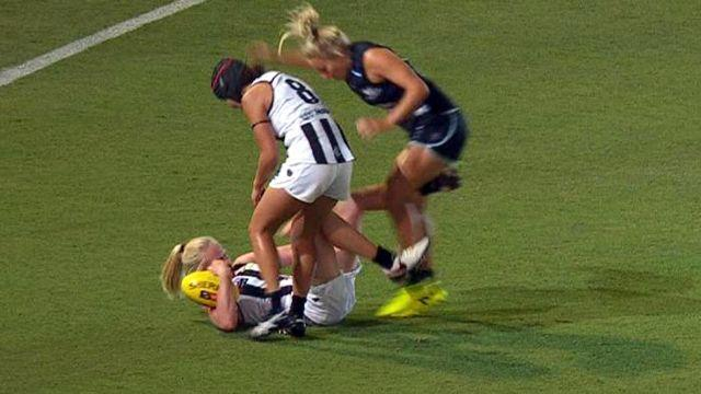 D'Arcy suspended for nasty AFLW kick