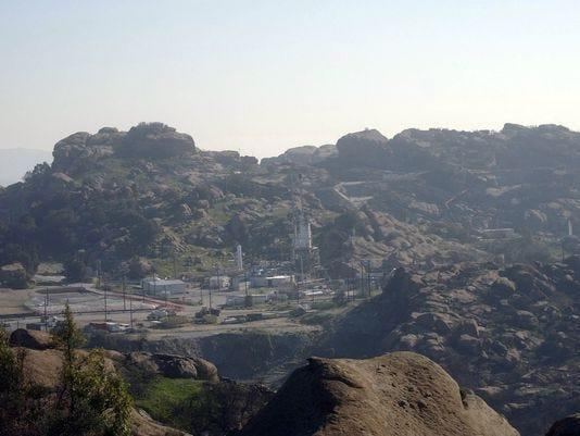 The Santa Susana Field Lab is in the hills near Simi Valley.