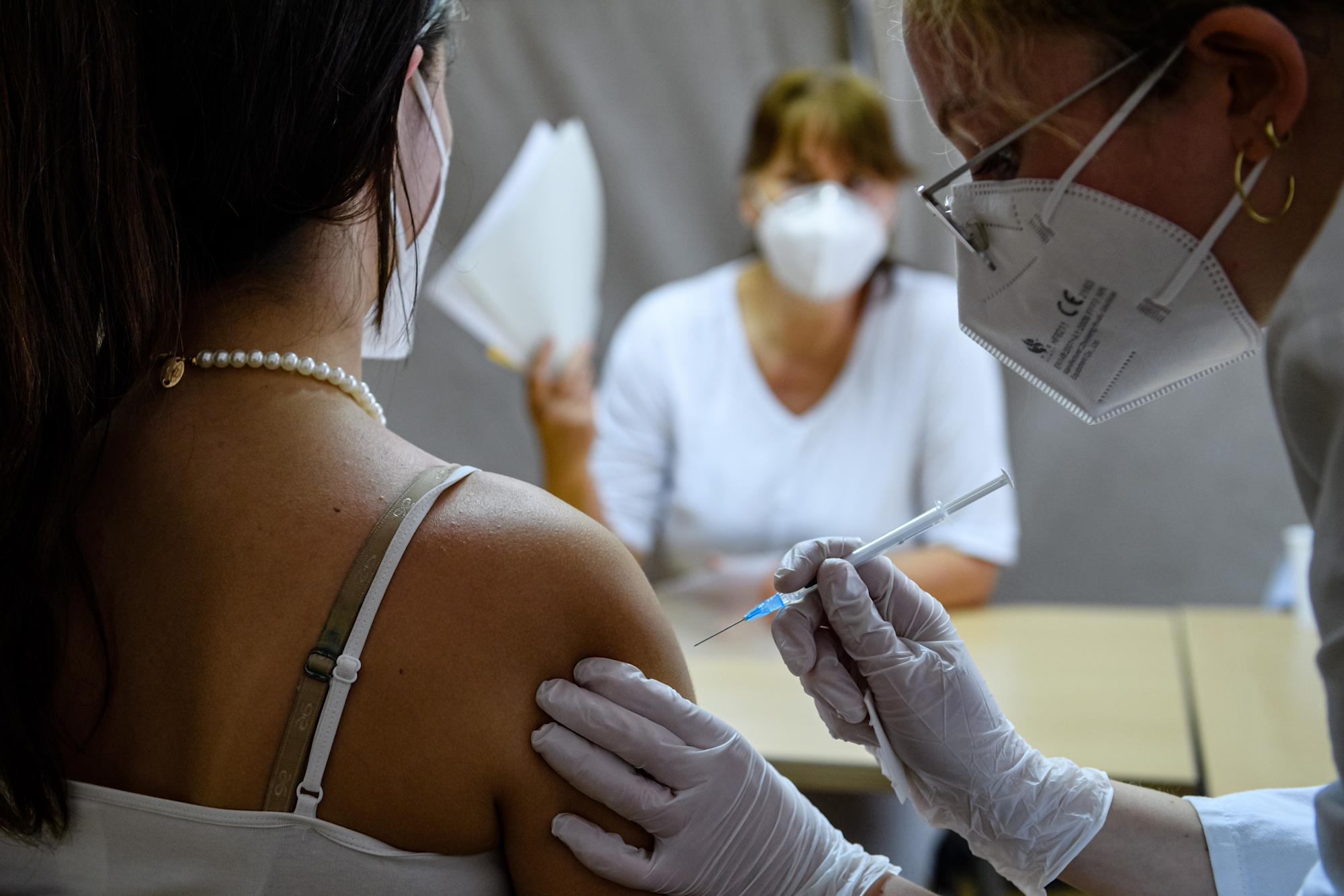 Several EU countries are now vaccinating faster than the UK