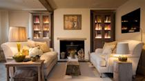 """<p>The atmospheric fireplace, snuggly seating, books and warm lighting – this Airbnb cottage's sitting room is a dream. It's not the only place that will make you swoon either as the cute bolthole has a gorgeous bedroom and dining area, as well as a bathroom that could have its own Instagram account. Surrounded by pretty woodland and fields, Plum Cottage has a fabulous outdoor space. A local pub serves up great food and the Surrey towns of Haslemere, Petworth and Midhurst are nearby.</p><p><strong>Sleeps: </strong>2</p><p><strong>Price per night: </strong>£200</p><p><a class=""""link rapid-noclick-resp"""" href=""""https://airbnb.pvxt.net/BX0Yj9"""" rel=""""nofollow noopener"""" target=""""_blank"""" data-ylk=""""slk:SEE INSIDE"""">SEE INSIDE</a></p>"""