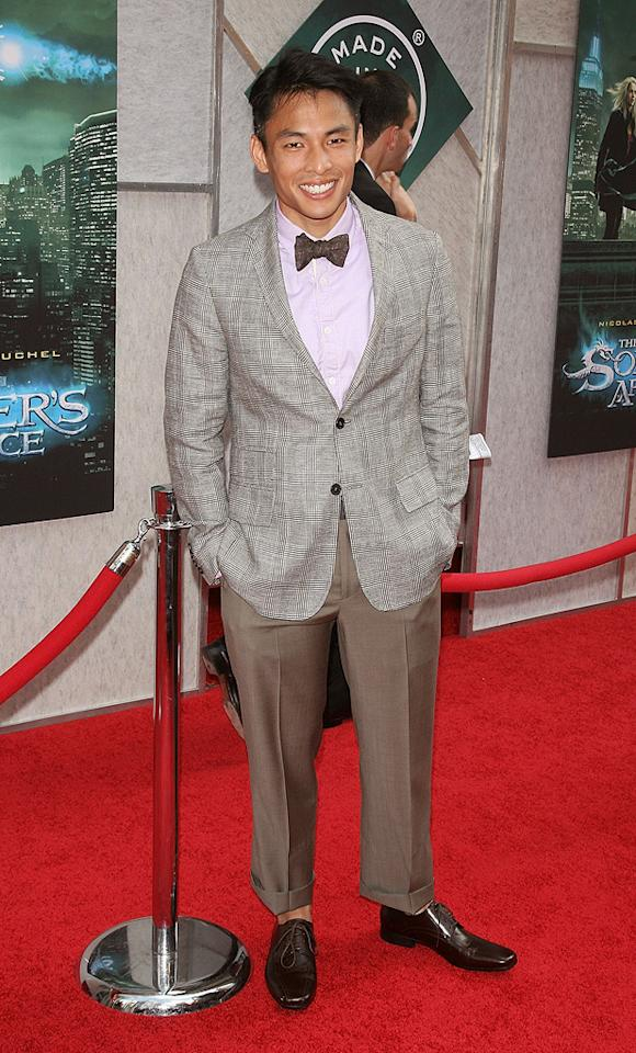 """<a href=""""http://movies.yahoo.com/movie/contributor/1810163447"""">Gregory Woo</a> at the New York City premiere of <a href=""""http://movies.yahoo.com/movie/1810073953/info"""">The Sorcerer's Apprentice</a> - 07/06/2010"""