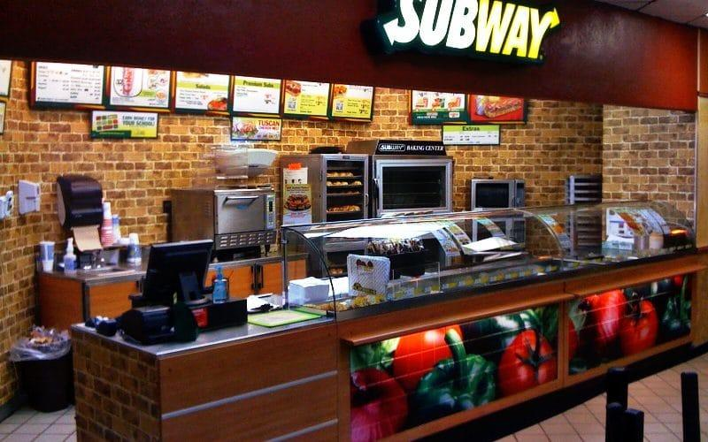 A Subway restaurant  - CXSHAWX