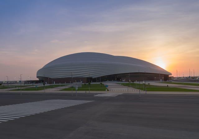 England will be hoping to play in venues such as the Al Janoub Stadium at next year's World Cup.