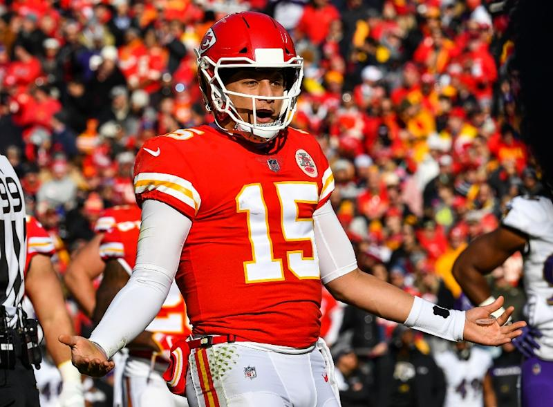 651d4a658 Kansas City Chiefs quarterback Patrick Mahomes was among the NFL stars  named to next month