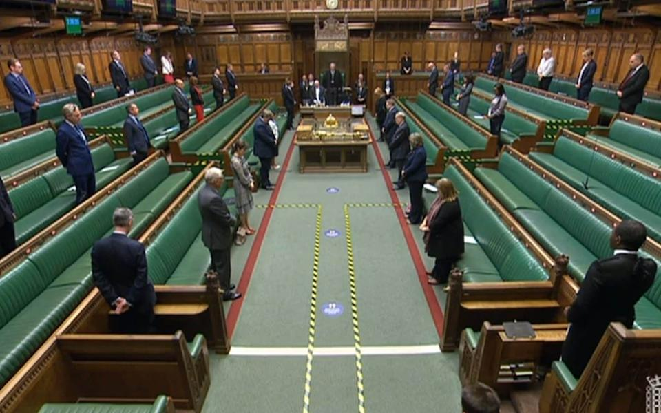 MPs stood to honour Matt Ratana, who was killed on Friday morning - PA