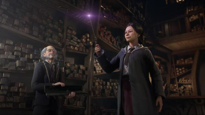 "An image from the upcoming ""Harry Potter"" wizarding world video game ""Hogwarts Legacy."" (Warner Bros. Games )"