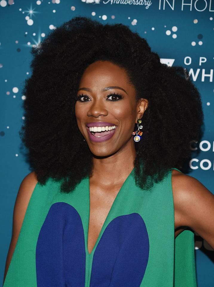 <p>The <em>Insecure</em> star displayed some major volume at the 2017 ESSENCE Black Women in Hollywood event.</p>