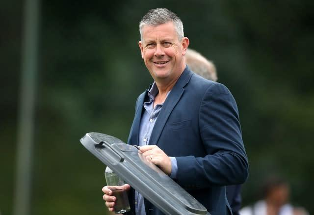 Ashley Giles, pictured, was impressed by Silverwood's vision for England (Nick Potts/PA)