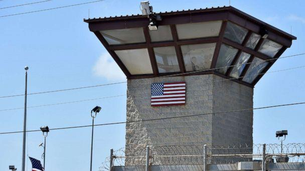 PHOTO: The watch tower of 'Camp 6' detention facility at the US Naval Station in Guantanamo Bay, Cuba, April 8, 2014. (Mladen Antonov/AFP/Getty Images, FILE)