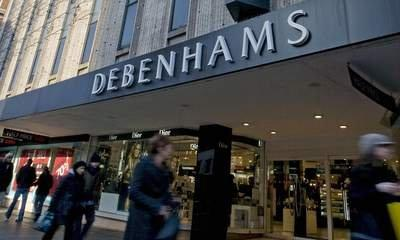 Debenhams Says Customers 'More Optimistic'
