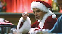 Billy Bob Thornton plays a boozy, sweary shopping mall Santa in this Christmas crime tale. It's crass, politically incorrect and consistently funny. (Credit: Columbia Pictures)