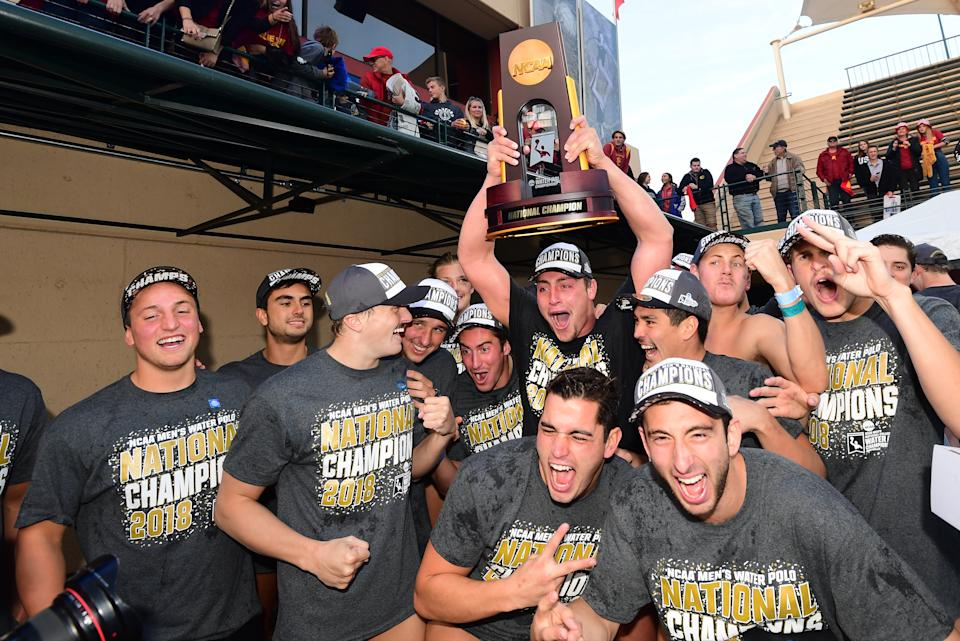 Best sport: men's water polo (national champion). Trajectory: steady. That water polo title, the Trojans' first on the men's side since 2013, extended the school's streak to 12 straight years with at least one natty. USC excelled in the spring in the kind of sports where you'd expect it to excel: beach volleyball, women's water polo, men's volleyball, women's track & field, women's golf. Despite the broad-based prowess, most USC fans would trade most of it for a return to football prominence.