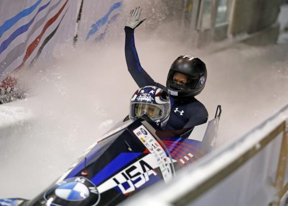 Park City Olympic Bobsled - AP
