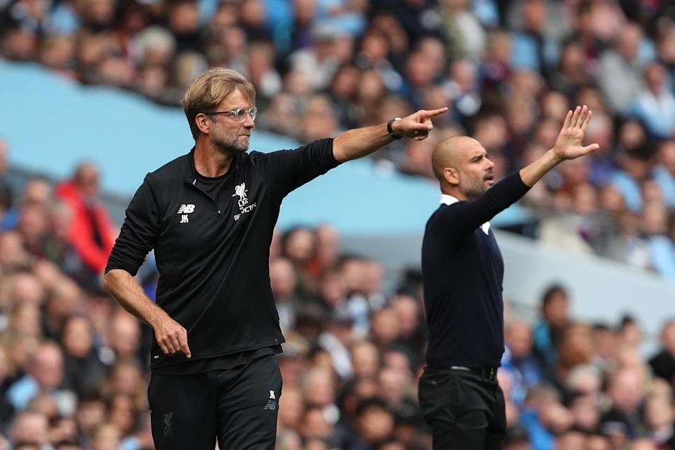 Could Jurgen Klopp and Liverpool challenge Pep Guardiola and Manchester City for the 2018-19 Premier League title? (Getty)