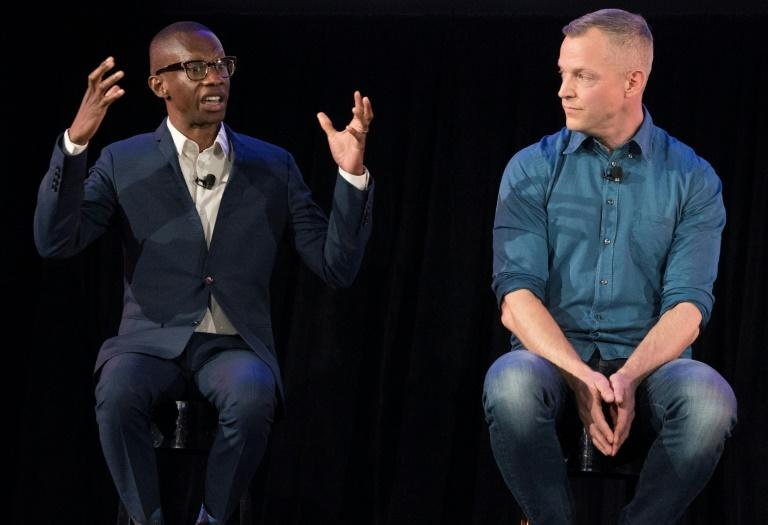 Gustav Soderstrom, Spotify Chief Research and Development Officer (R), shown with Spotify's Troy Carter, Spotify Gustav Soderstrom, Spotify Chief Research and Development Officer (R), shown with Spotify's Troy Carter, Head of Creator Services, said expanding the company's free service is part of the platform's growth strategy