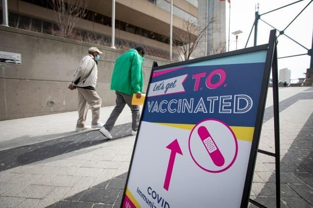 Across the province, nearly 1.7 million people have been given one shot of vaccine, while just over 300,000 have been fully-vaccinated,according to Ontario's Ministry of Health. (Evan Mitsui/CBC - image credit)