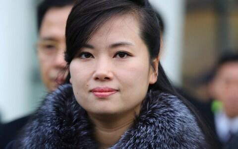 Hyon Song-wol was reported to have been killed in 2013 but is now one of North Korea's most influential women - Credit: Yonhap/Reuters