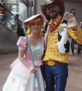 """<p>These <em>Toy Story</em> icons are kiiinda of the cutest. You and your bae will get so many compliments dressing as this pair for Halloween.</p><p><a class=""""link rapid-noclick-resp"""" href=""""https://www.amazon.com/dp/B0037E2EHS?tag=syn-yahoo-20&ascsubtag=%5Bartid%7C2140.g.33298559%5Bsrc%7Cyahoo-us"""" rel=""""nofollow noopener"""" target=""""_blank"""" data-ylk=""""slk:Shop Woody"""">Shop Woody</a></p><p><a class=""""link rapid-noclick-resp"""" href=""""https://www.amazon.com/Disguise-Womens-Deluxe-Adult-Costume/dp/B07L646WD4/ref=sr_1_2?dchild=1&keywords=bo+peep+costume&qid=1625670011&sr=8-2&tag=syn-yahoo-20&ascsubtag=%5Bartid%7C2140.g.33298559%5Bsrc%7Cyahoo-us"""" rel=""""nofollow noopener"""" target=""""_blank"""" data-ylk=""""slk:Shop Bo Peep"""">Shop Bo Peep</a></p>"""