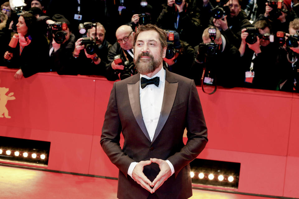 BERLIN, GERMANY - FEBRUARY 26: Actor Javier Bardem poses at the