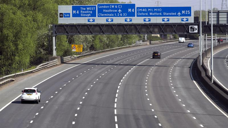 Speeds surged and delays plummeted on major roads when lockdown was introduced