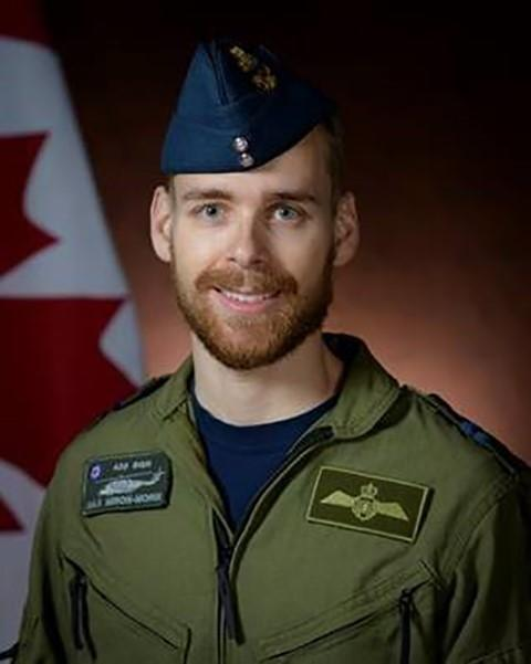 Capt. Maxime Miron-Morin, an air combat systems officer originally from Trois-Rivières, Québec is shown in a Department of National Defence handout photo. (THE CANADIAN PRESS/HO-Department of National Defence)