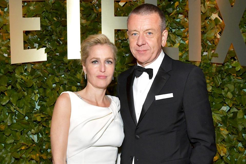 Gillian Anderson and The Crown Creator Peter Morgan Split After Four Years Together