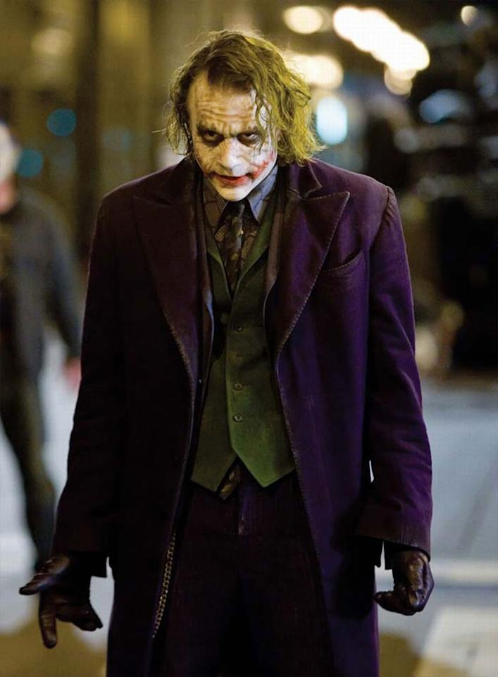 "<a href=""http://movies.yahoo.com/movie/contributor/1800018553"">HEATH LEDGER</a> -- <a href=""http://movies.yahoo.com/movie/1809271891/info"">THE DARK KNIGHT</a>   Though he died of an accidental drug overdose this past January, a full seven months before ""The Dark Knight"" opened, Heath Ledger's performance as The Joker in Christopher Nolan's grim superhero blockbuster has already garnered Oscar talk. The Australian actor died while shooting Terry Gilliam's ""The Imaginarium of Doctor Parnassus,"" but a trio of other stars -- Johnny Depp, Jude Law, and Colin Farrell -- stepped in to film the character's remaining scenes."