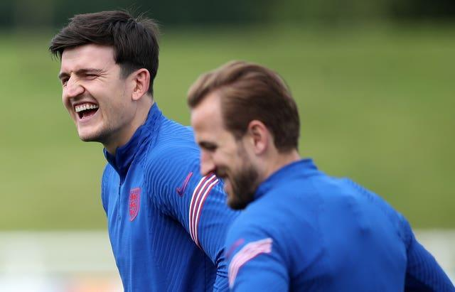 Harry Maguire, left, is in the form of his life