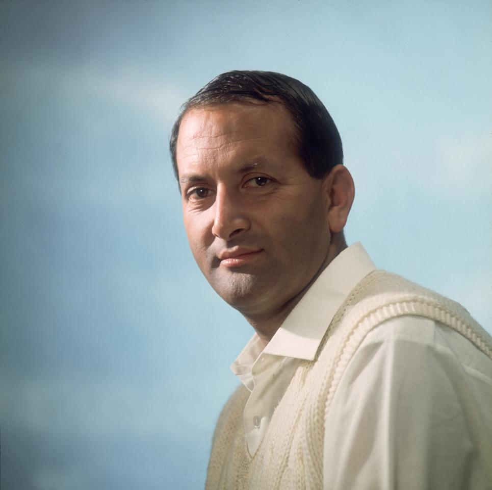 UNITED KINGDOM-1969:A portrait of Worcestershire and England cricketer Basil D'Oliveira taken in 1969. (Photo by Getty Images)