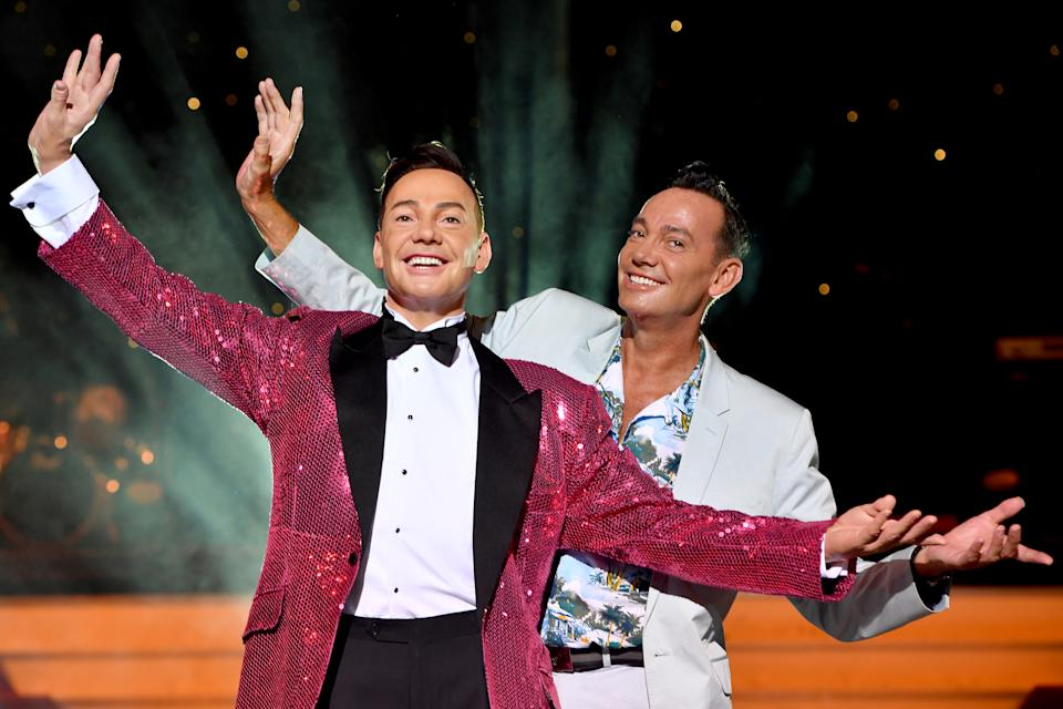 BLACKPOOL, ENGLAND - JULY 02:  Craig Revel Horwood unveils his brand-new wax figure at madame Tussauds Blackpool on July 2, 2018 in Blackpool, England.  (Photo by Anthony Devlin/Getty Images)
