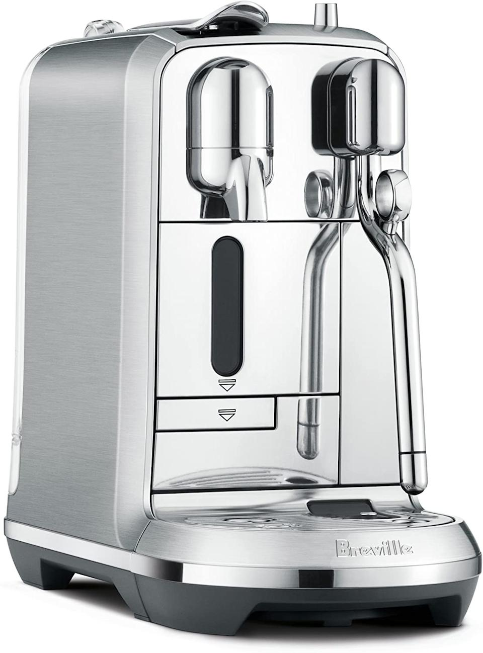 Breville Nespresso Creatista Plus. Image via Amazon.