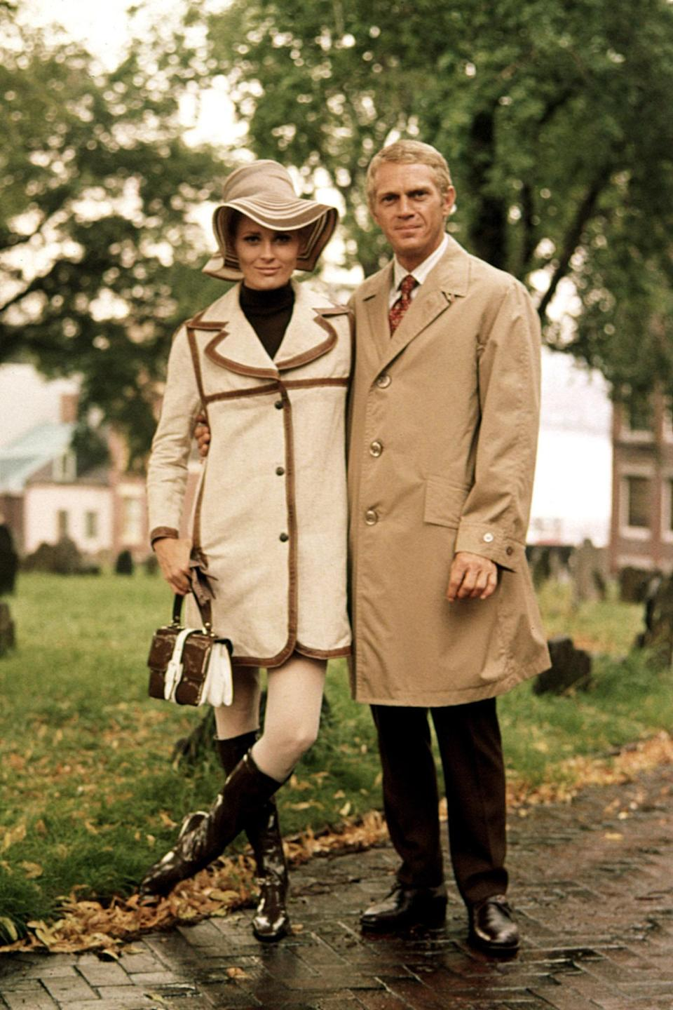 "<h1 class=""title"">THE THOMAS CROWN AFFAIR, Faye Dunaway, Steve McQueen, 1968</h1> <cite class=""credit"">Courtesy of Everett Collection</cite>"