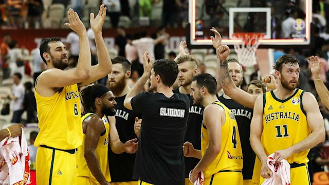 Australia and Spain will do battle for a place in the FIBA World Cup final after the Boomers beat Czech Republic to make history.