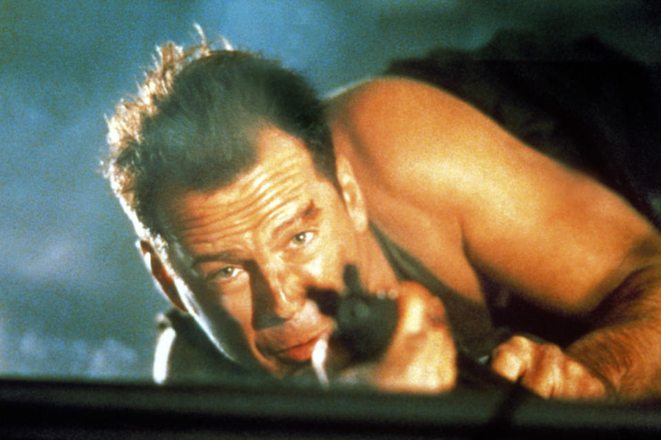 Bruce Willis as John McClane in the 1988 action favorite, 'Die Hard' (Photo: 20th Century Fox Film Corp./courtesy Everett Collection)