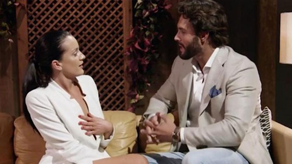 Married At First Sight's Ines Basic hopes to come face-to-face with ex Sam Ball. Photo: Channel Nine